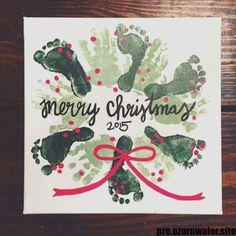 Weihnachten 2017 :: Fußabdruck Handabdruck Kranz Weihnachten 2017 :: … Christmas 2017 :: footprint handprint wreath Christmas 2017 :: footprint handprint wreath preschool – what does the term mean in today's world? Kids Crafts, Daycare Crafts, Preschool Crafts, Crafts For Babies, Baby Crafts To Make, Infant Crafts, Classroom Crafts, Toddler Crafts, Christmas Baby