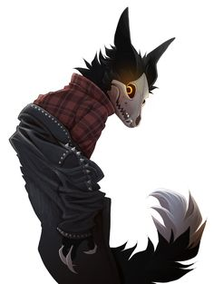 Cadaver getting his hand stuck in a jacket? by on DeviantArt Anime Furry, Anime Wolf, Creature Drawings, Animal Drawings, Wolf Drawings, Mythical Creatures Art, Fantasy Creatures, The Ancient Magus Bride, Furry Comic