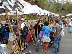 Organic market in San Jose, Costa Rica