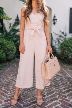 Gal Meets Glam The Jumpsuit Club Monaco jumpsuit, Joie heels & Chanel bag