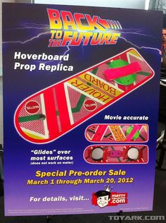 BACK TO THE FUTURE Hoverboard Replicas Are Coming