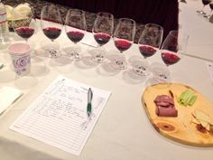 Catherine Neville - And we are on to dry reds in the 2014 Missouri Wine Competition in Columbia, #Missouri. 7/15/2014