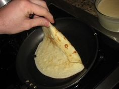 French Crepes - so easy - and don't forget the cream fillings ...mmm