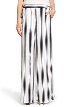 1.STATE Stripe Wide Leg Pants available at #Nordstrom