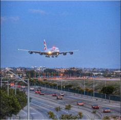 Imagine seeing a British Airways Airbus A380 paint the Los Angeles evening sky with its beauty and grandeur on its landing approach to LAX... It's a sight to see! Thanks to @into21cable for sharing this week's LAX Photo of the Week. Share your LAX photos with #LAXPhotoWeek for your chance to be featured in our galleries.