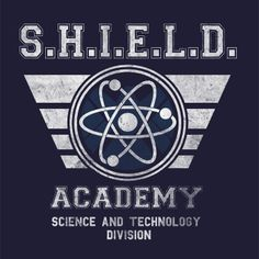 Shield Academy T-Shirt $12.99 Agents of SHIELD tee at Pop Up Tee!