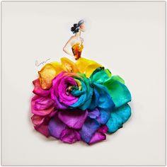 Art Symphony: Dressed in Flower Petals by Lim Zhi Wei
