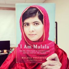 October 3, 2014 I Am Malala #bookfacefriday http://www.chplnj.org/