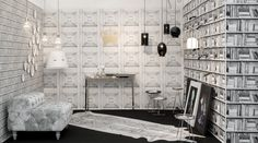 Discover unique, undiscovered products and gifts for your lifestyle, from modern home decor and Zalto wine glasses to travel accessories and jewelry. White Wallpaper, Black Glass, Household Items, Double Vanity, Interior Design, Showroom Ideas, Pendant Lamps, Modern, Cauldron
