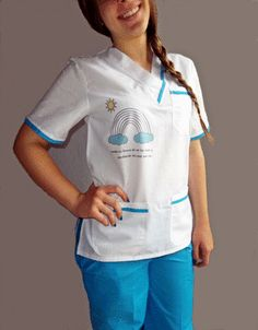 Ambos Medicos Bordados Estampados Pediatria-estetica- en venta en  La Matanza Bs.As. G.B.A. Oeste por sólo $ 750,00 - CompraCompras.com Argentina Dental Clinic Logo, Stylish Scrubs, Beauty Uniforms, Bs As, Nurse Costume, Medical Uniforms, Medical Scrubs, Nursing Clothes, Work Wear