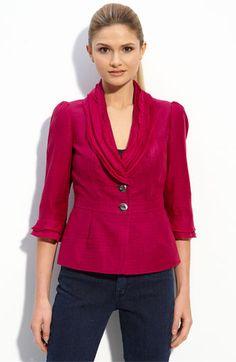 $135.00 - Classiques Entier® Raw Edge Collar Jacket