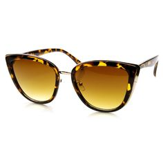 Womens Oversize Cat Eye Designer Fashion Sunglasses 9281   zeroUV