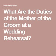 Wedding Quotes : Picture Description What Are the Duties of the Mother of the Groom at a Wedding Rehearsal? Wedding Dinner, Wedding Rehearsal, Wedding Groom, Dream Wedding, Gown Wedding, Lace Wedding, Wedding Dresses, Rehearsal Dinner Decorations, Rehearsal Dinner Invitations
