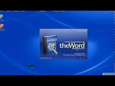 theWord Bible Software Tutorial Series 1 - YouTube