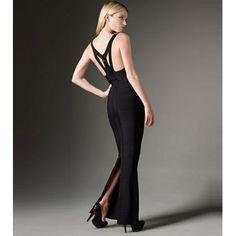 New with Tags Authentic Herve Leger One Shoulder Black & Tan Bandage Dress. Mini Prom Dresses, Herve Leger Dress, Floor Length Gown, Dress P, Evening Dresses, Hot Clothes, Fashion Clothes, Women, Phillip Lim