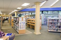 Amesbury Park Branch Library - interior.