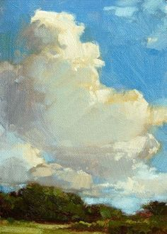 #painting #sky #clouds