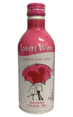 Lovers Wine Bubbly Rose Wine NV 300 ML Australia - 24 Bottles Sparkling Wine, Hot Sauce Bottles, Wines, Bubbles, Lovers, Australia, Rose, How To Make, Pink