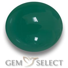 GemSelect features this natural Agate from India. This Green Agate weighs 6.3ct and measures 12.7 x 11.2mm in size. More Oval Cabochon Agate is available on gemselect.com #birthstones #healing #jewelrystone #loosegemstones #buygems #gemstonelover #naturalgemstone #coloredgemstones #gemstones #gem #gems #gemselect #sale #shopping #gemshopping #naturalagate #agate #greenagate #ovalgem #ovalgems #greengem #green