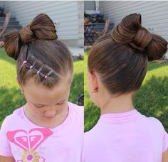 Little girls hair
