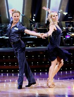 Jennie Garth & Derek Hough (DWTS 5) Cha Cha week 1
