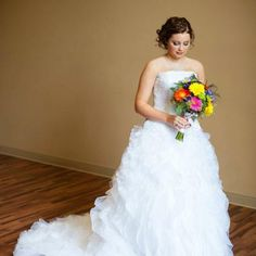 David's Bridal Ball Gown - VarageSale Sarnia