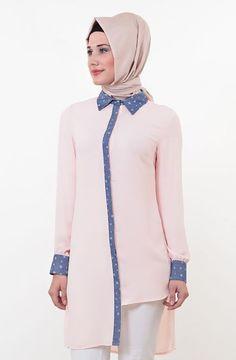 Pamuklu Viskon kumaşı ile yaz günlerinde rahatlıkla kullanılabilecek şık bir tuniktir..[kod Studio Tunik 518-021-41] http://www.zerafettesettur.com/M83,Puane.htm #moda #tasarım #tesettür #giyim #fashion #ınstagram #etek #tunik #kap #kampanya #woman #alışveriş #özel #zerafet