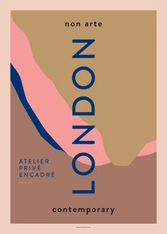 """Non Arte Poster """"London"""" Textures Patterns, Print Patterns, Images Murales, Plakat Design, Aesthetic Iphone Wallpaper, Graphic Design Inspiration, Wall Collage, Aesthetic Pictures, Illustration Art"""