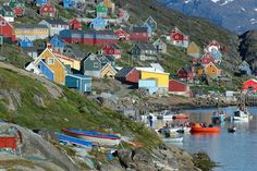 To southern Greenland... #ridecolorfully