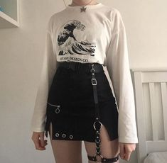 20 Unusual Grunge Outfits Ideas For Women To Try This Season Unusual Grunge Outfits Ideas For Women To Try This The post 20 Unusual Grunge Outfits Ideas For Women To Try This Season appeared first on Zahn Gesundheit. Korean Outfits, Mode Outfits, Casual Outfits, Fashion Outfits, Fashion Clothes, Egirl Fashion, Tomboy Outfits, Fashion Trends, Summer Outfits
