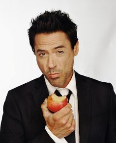 Robert Downey Jr. Love this man. Hilarious and an amazing actor.