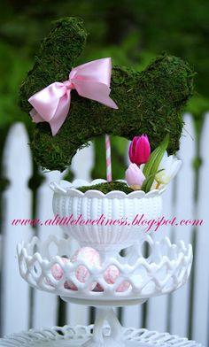 bunny topiary tutorial