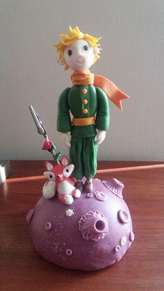El Principito-Der Kleine Prinz-The Little Prince en porcelana fria. Lo amo!
