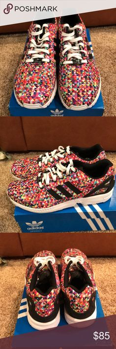 Adidas ZX Flux Adidas ZXFlux. Worn one time. Shoe is brand new minus very light wear on bottoms. adidas Shoes Sneakers