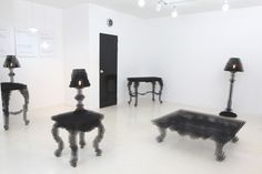 Living in a shoebox   Pixelated furniture handmade by designer
