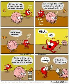 Heart & Brain comic