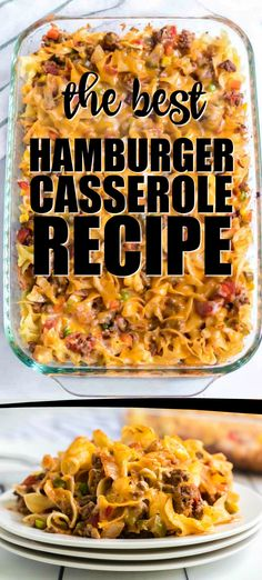 Hamburger casserole is one-dish comfort foo. Casserole Hamburger casserole is one-dish comfort foo. Hamburger casserole is one-dish comfort foo. Casserole Hamburger casserole is one-dish comfort foo. Best Hamburger Casserole Recipes, Hamburger Casserole With Noodles, Company Casserole Recipe, Hamburger Meat Recipes Ground, Ground Turkey Casserole, Cooking Recipes, Healthy Recipes, Quick Recipes, Potato Recipes