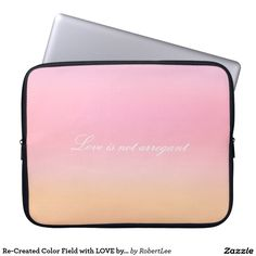 Re-Created Color Field with LOVE by Robert S. Lee Laptop Sleeve#love #Scripture #Bible #Jesus #Christ #Lord #God #Robert #S. #Lee #art #Neoprene #Laptop #Sleeve #graphic #design #colors #sleeve #electronics #tech #laptop #mac #apple #girls #boys #men #women #ladies #style #for #her #him #gift #want #need #love #customizable