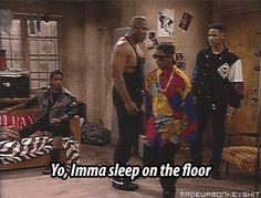 Carlton on some Gangsta SHIT. .