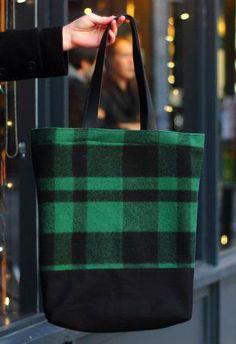 Wool Tote / Winter Bag / Wool Bag