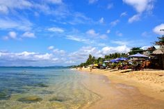 Long Beach on Pho Quoc, island in South Vietnam @camorose #travel #vietnam