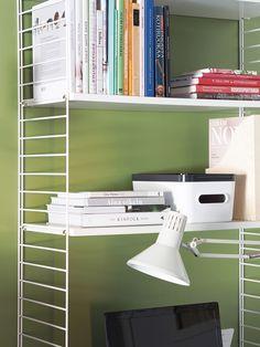 SmartStore™ Compact in a book shelf
