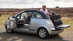 A least sensible convertible. Ever. TopGear's worst cars in the world... contender, Citroen.