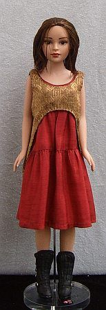 Free Pattern - Red-Gold Outfit