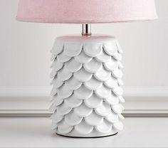 Ceramic Petal Lamp Base   Pottery Barn Kids