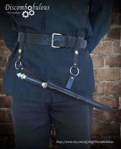 Death Eater Style Wand Holster *Wand and Belt not included* witches and…