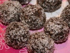 Chocoladebolletjes met kokos (zonder suiker) | SuikerWijzer