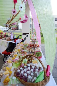 Decoraci n para baby shower con flores y mariposas - Decoracion con mariposas ...