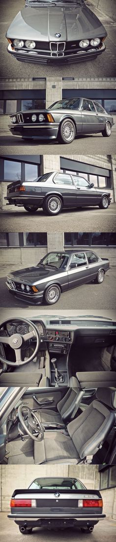 1982 BMW 323i Edition S / E21 / Germany / two-tone Ascot grey and Graphite grey metallic / Recaro / BBS