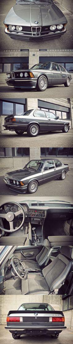 1982 BMW 323i Edition S / E21 / Germany / two-tone Ascot grey and Graphite grey metallic / Recaro / BBS